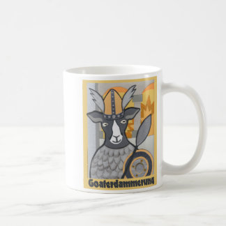 Goaterdammerung: Twilight of the Goats Coffee Mug