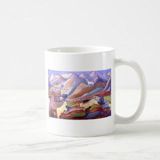 Goats and mountains mug