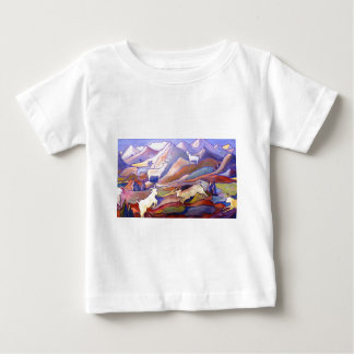 Goats and mountains tshirts