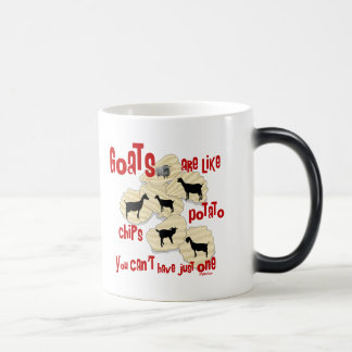 Goats are Like Potato Chips Magic Mug