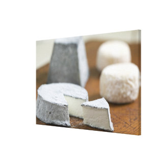 Goat's milk cheeses - Selles-sur-Cher, Gallery Wrapped Canvas