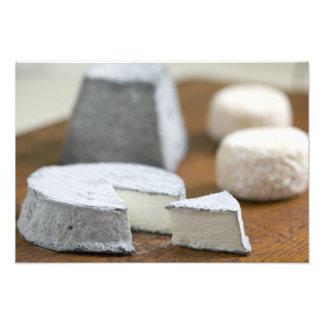 Goat's milk cheeses - Selles-sur-Cher, Photograph