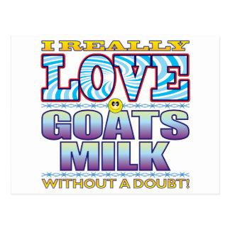 Goats Milk Love Face Postcard