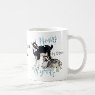 GOATS | Nigerian Dwarf Home is Where MY Goats Are Coffee Mug