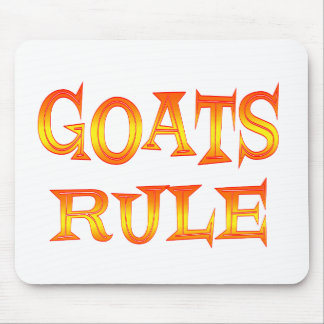 Goats Rule Mouse Pad