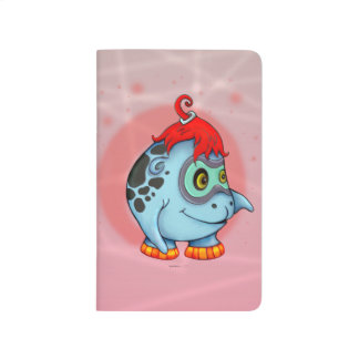 GOBBI ALIEN MONSTER CARTOON Pocket Journal