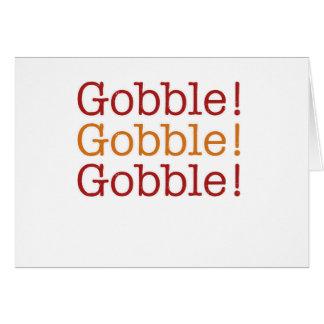 gobble card