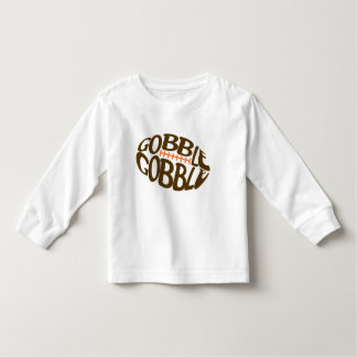 Gobble Gobble Football Thanksgiving Shirt