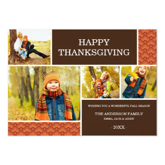 GOBBLE GOBBLE | THANKSGIVING PHOTO CARD
