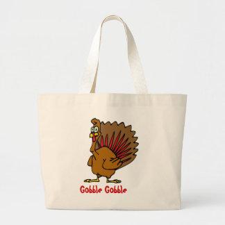 Gobble Gobble Thanksgiving Jumbo Tote Bag