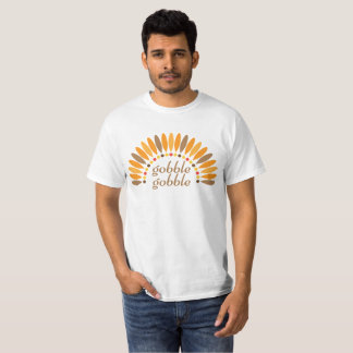 Gobble Gobble Turkey Thanksgiving T-Shirt