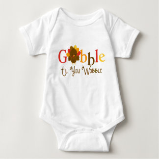 Gobble Til you Wobble Thanksgiving Day Shirt