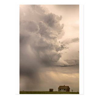 Gobbled Up By a Monster Storm Postcard