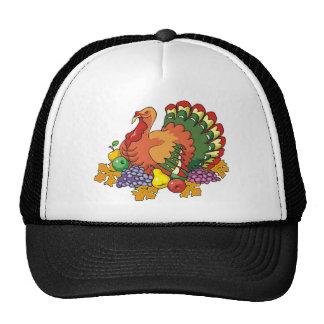 Gobbling turkey cap