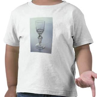 Goblet with round funnel bowl tshirts