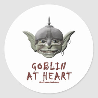 Goblin at Heart Stickers