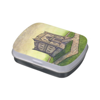 Goblin Bank Mint Tin from Unreal Estate Jelly Belly Candy Tins