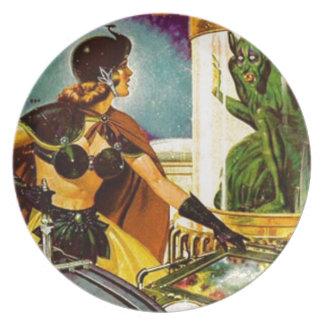 Goblin Behind Glass Plate