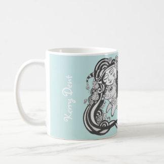 Goblin Dog Fish Caribbean Sea Green, Living Dreams Coffee Mug