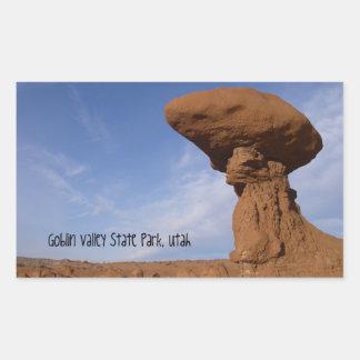 Goblin Valley State Park, UT Rectangular Sticker