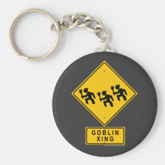 Goblin XING Basic Round Button Key Ring