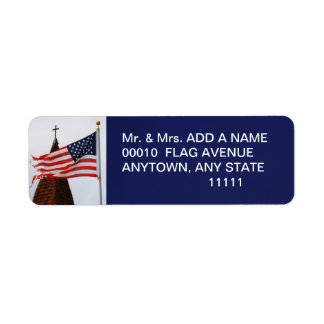 GOD AND COUNTRY LABEL