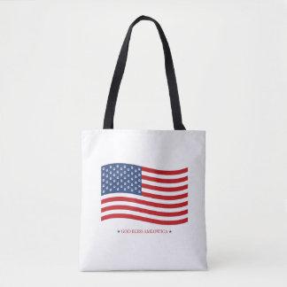 God Bless Ameowica Tote Bag