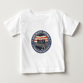 God Bless America Baby T-Shirt