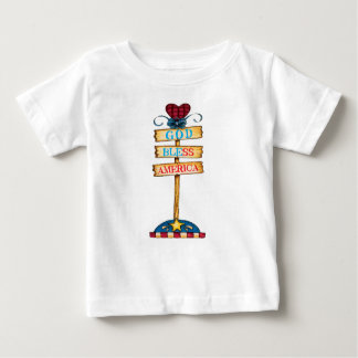 "God Bless America ""Baby T-shirt"