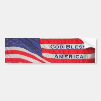 God Bless America Bumper Sticker