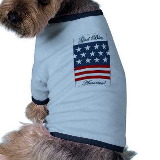 God_Bless_America Dog Tee