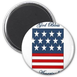 God_Bless_America Refrigerator Magnet
