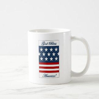 God_Bless_America Basic White Mug
