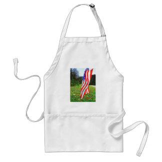 GOD BLESS AMERICA - Patriotic Theme Standard Apron