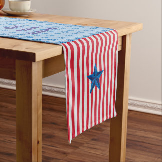 God Bless America Table Runner