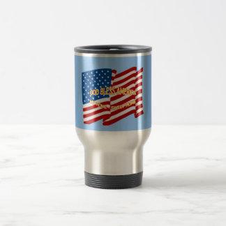 God Bless America Travel Mug