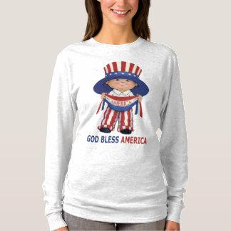 God Bless America-Women's- Long Sleeve T-Shirt