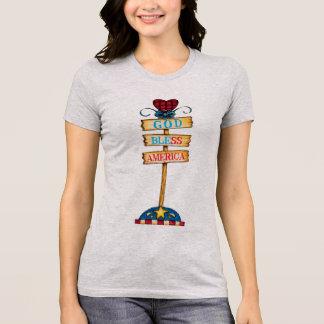 "God Bless America""Women's T-Shirts,... T-Shirt"