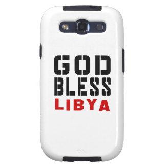 God Bless Libya Galaxy S3 Case