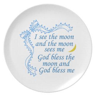 God Bless Me Plates