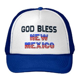 God Bless New Mexico Cap