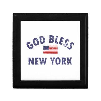 God bless NEW YORK Gift Box