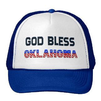 God Bless Oklahoma Cap