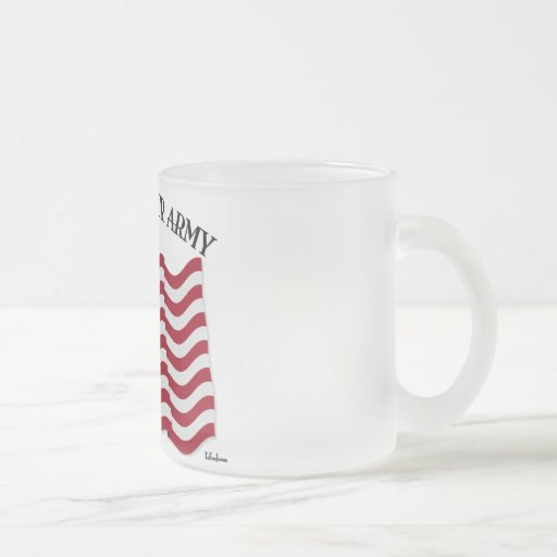 GOD BLESS OUR ARMY with US flag Coffee Mugs