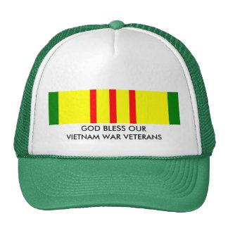 GOD BLESS OUR VIETNAM WAR VETERANS CAP