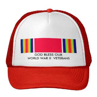 GOD BLESS OUR WORLD WAR II VETERANS CAP