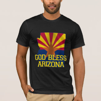 God Bless the state of Arizona T-Shirt