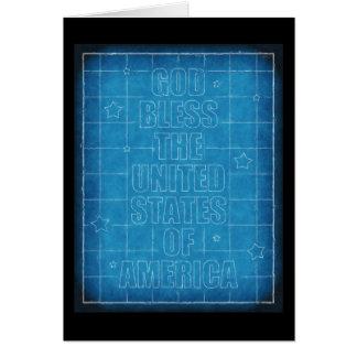 God Bless The USA Card