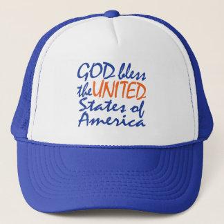 GOD BLESS UNITED STATES HAT