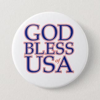 GOD BLESS USA BADGE